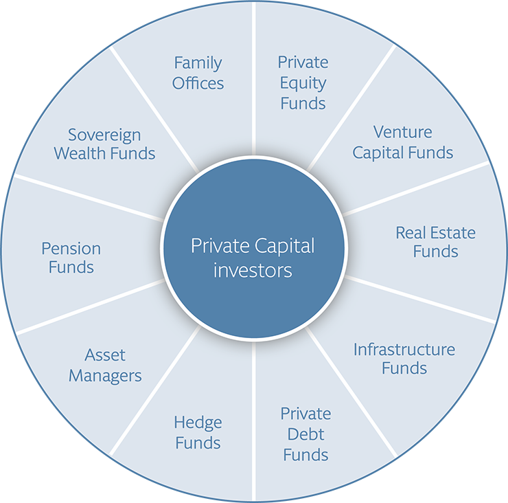 Types of Private Capital investors